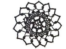 Mooie crochet doily royalty-vrije stock afbeelding