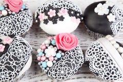 Mooie cupcakes Royalty-vrije Stock Fotografie