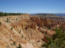 Mooie dag in Bryce Canyon Stock Foto's