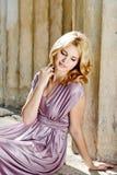 Mooie dame Royalty-vrije Stock Foto's