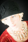 Mooie dameclose-up stock afbeeldingen