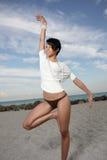 Mooie danser Royalty-vrije Stock Foto