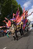 Mooie danser bij de Notting Heuvel Carnaval Royalty-vrije Stock Afbeelding