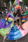 Mooie danser bij de Notting Heuvel Carnaval Stock Foto