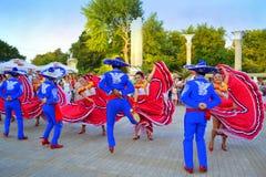 Mooie dansers stock foto
