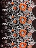 Mooie de bloemkleur van het behangontwerp Royalty-vrije Stock Foto