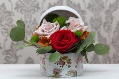 Mooie de lentebloemen voor 8 Maart Royalty-vrije Stock Afbeeldingen