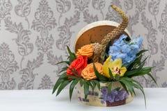 Mooie de lentebloemen voor 8 Maart Stock Afbeeldingen