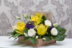 Mooie de lentebloemen voor 8 Maart Stock Fotografie