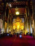 Mooie de vrijheidslevensstijl Thailand van de tempelgodsdienst Royalty-vrije Stock Foto's