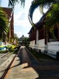 Mooie de vrijheidslevensstijl Thailand van de tempelgodsdienst Stock Foto