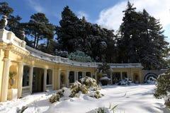 Mooie de wintercityscape Stock Fotografie