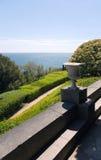 Mooie de zomerdag in het kustpark Stock Foto