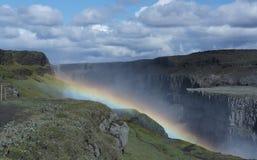 Mooie Dettifoss-waterval in IJsland Royalty-vrije Stock Afbeeldingen