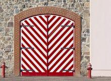 Mooie deur Royalty-vrije Stock Afbeelding