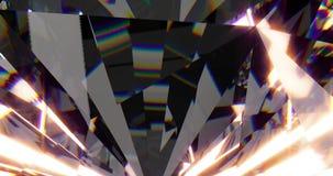 Mooie Diamanten bekwaam aan lijn stock illustratie