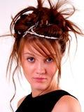 Mooie Donkerbruine Tiener Royalty-vrije Stock Foto