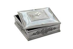 Mooie doos voor juwelen Stock Fotografie
