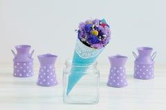 Mooie droge bloemen Stock Afbeelding