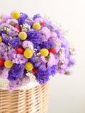 Mooie droge bloemen Royalty-vrije Stock Afbeeldingen