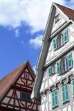 Mooie Duitse architectuur Royalty-vrije Stock Afbeeldingen