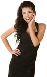Mooie Dunne Vrouw Royalty-vrije Stock Foto