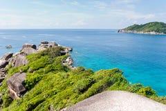 Mooie eilanden Similan Royalty-vrije Stock Foto's