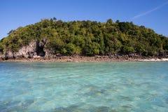 Mooie eilanden in Thailand Royalty-vrije Stock Afbeeldingen
