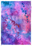 Mooie elegante waterverf abstracte textuur als achtergrond Royalty-vrije Stock Fotografie