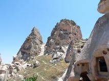 Mooie en geheimzinnige Cappadocia Stock Afbeelding
