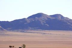 Mooie en kleurrijke bergen van Namibi? royalty-vrije stock foto