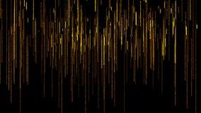Mooie en verbazende lijnen die onderaan Abstracte illustratie vallen vector illustratie