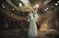 Mooie engel Royalty-vrije Stock Afbeeldingen