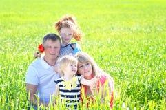 Mooie familie Stock Afbeelding
