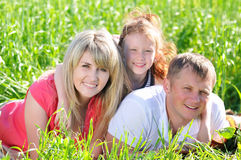 Mooie familie stock foto