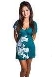 Mooie Filipijnse Vrouw Stock Foto