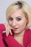 Mooie Flirterige Blonde (1) Royalty-vrije Stock Afbeelding