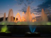 Mooie fontain in Barcelona Stock Foto's