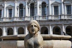 Mooie fontein stock afbeeldingen