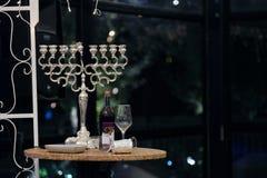 Mooie foto van Joodse Hupa, huwelijksputdoor hanukkah royalty-vrije stock foto's