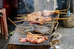 Mooie foto van Thais Voedsel in de Stad Thailand van Bangkok royalty-vrije stock afbeeldingen