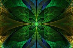 Mooie fractal geeft illustratie gestalte, Stock Fotografie
