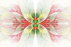 Mooie fractal geeft illustratie gestalte, Stock Afbeeldingen