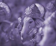 Mooie Ganesha-Achtergrond Stock Afbeeldingen