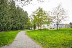 Mooie gangen bij Gasfabriekenpark in Seattle - SEATTLE/WASHINGTON - APRIL 11, 2017 Royalty-vrije Stock Foto