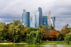 Mooie gebouwenwolkenkrabber Stock Afbeelding