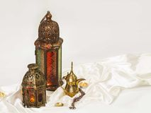 Mooie geestelijke Lantaarn stock fotografie