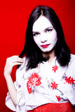 Mooie Geisha royalty-vrije stock foto