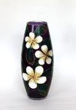 Mooie gekleurde glasvaas voor bloemen Royalty-vrije Stock Fotografie