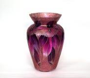 Mooie gekleurde glasvaas voor bloemen Stock Afbeelding